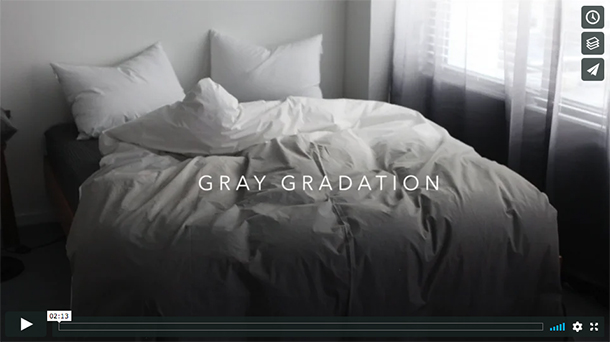 GRADATION BEDDING
